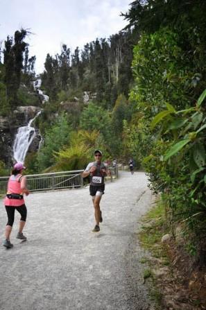 Marysville Marathon - Alongside the Falls